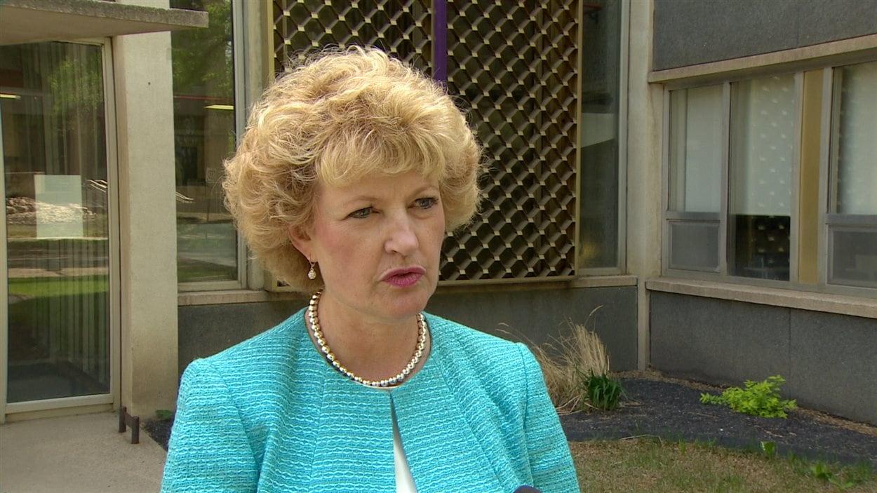Lori Nagy du conseil scolaire catholique d'Edmonton