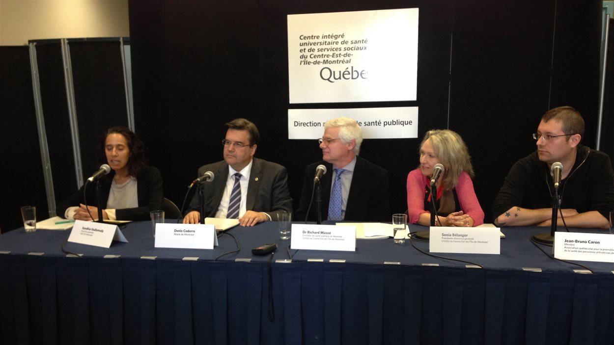 Montréal va de l'avant avec le projet de la Direction de la santé publique d'implanter des sites d'injection