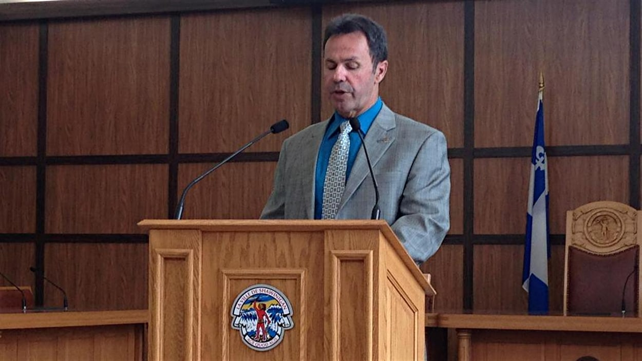 Le maire de Shawinigan, Michel Angers