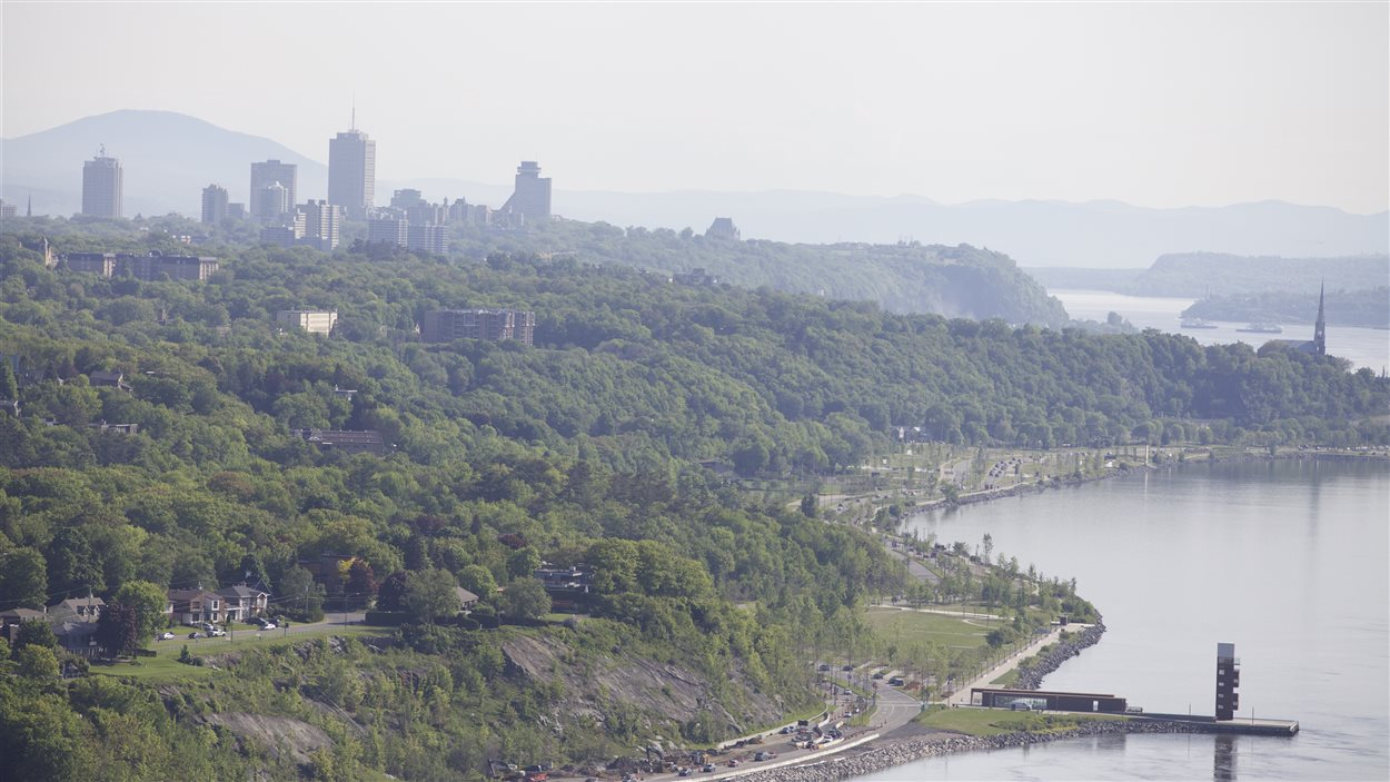 Le boulevard Champlain et le quai des Cajeux