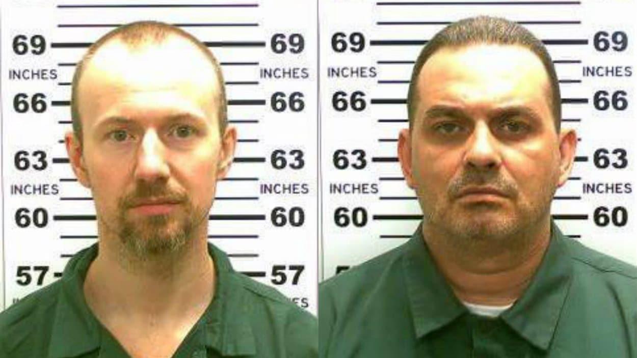 Les fugitifs Richard Matt et David Sweat