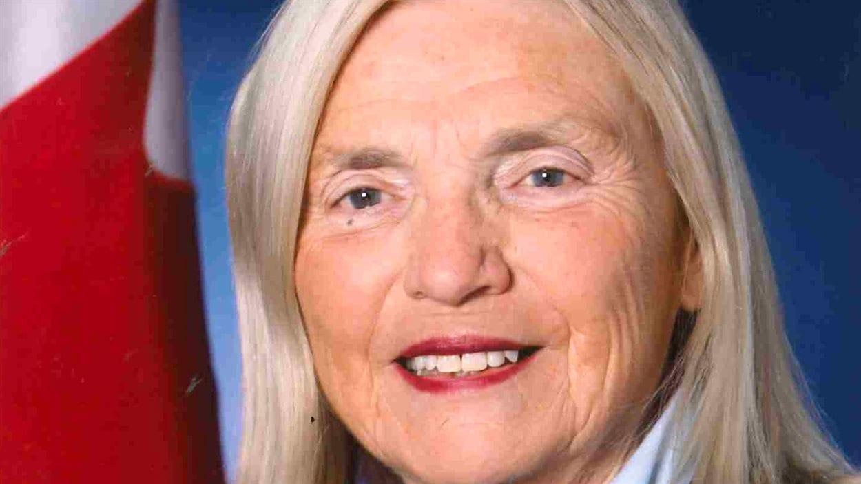 La sénatrice retraitée Rose-Marie Losier-Cool