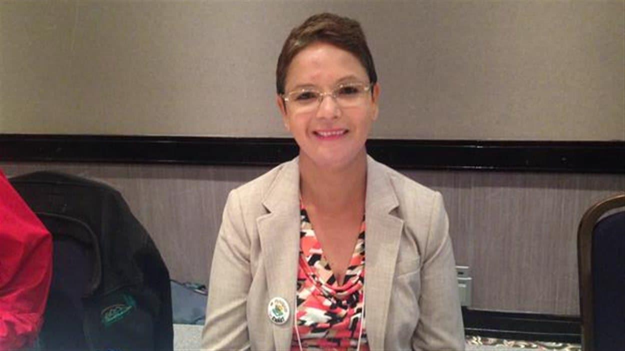 La nouvelle présidente du conseil d'administration de la Fédération des francophones de la Colombie-Britannique (FFCB), Padminee Chundunsing.