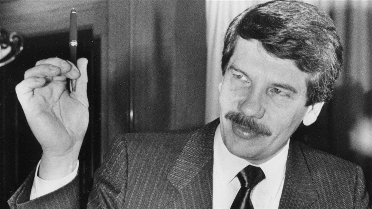 L'ancien maire de Montréal Jean Doré en 1986 (archives)
