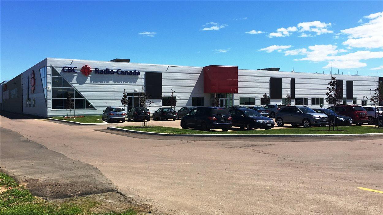 La nouvelle station de Radio-Canada Acadie, au 165 rue Main, à Moncton