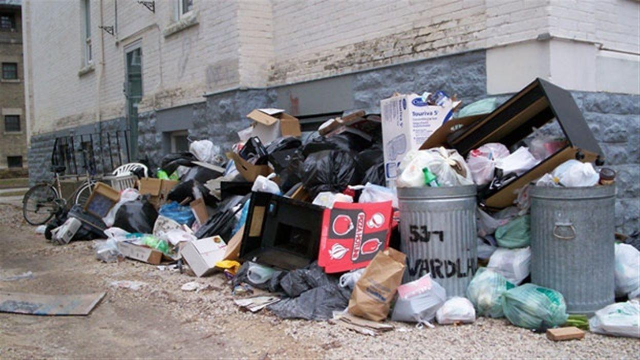 Selon deux conseillers de la Ville de Winnipeg, le déversement illégal des déchets est en hausse