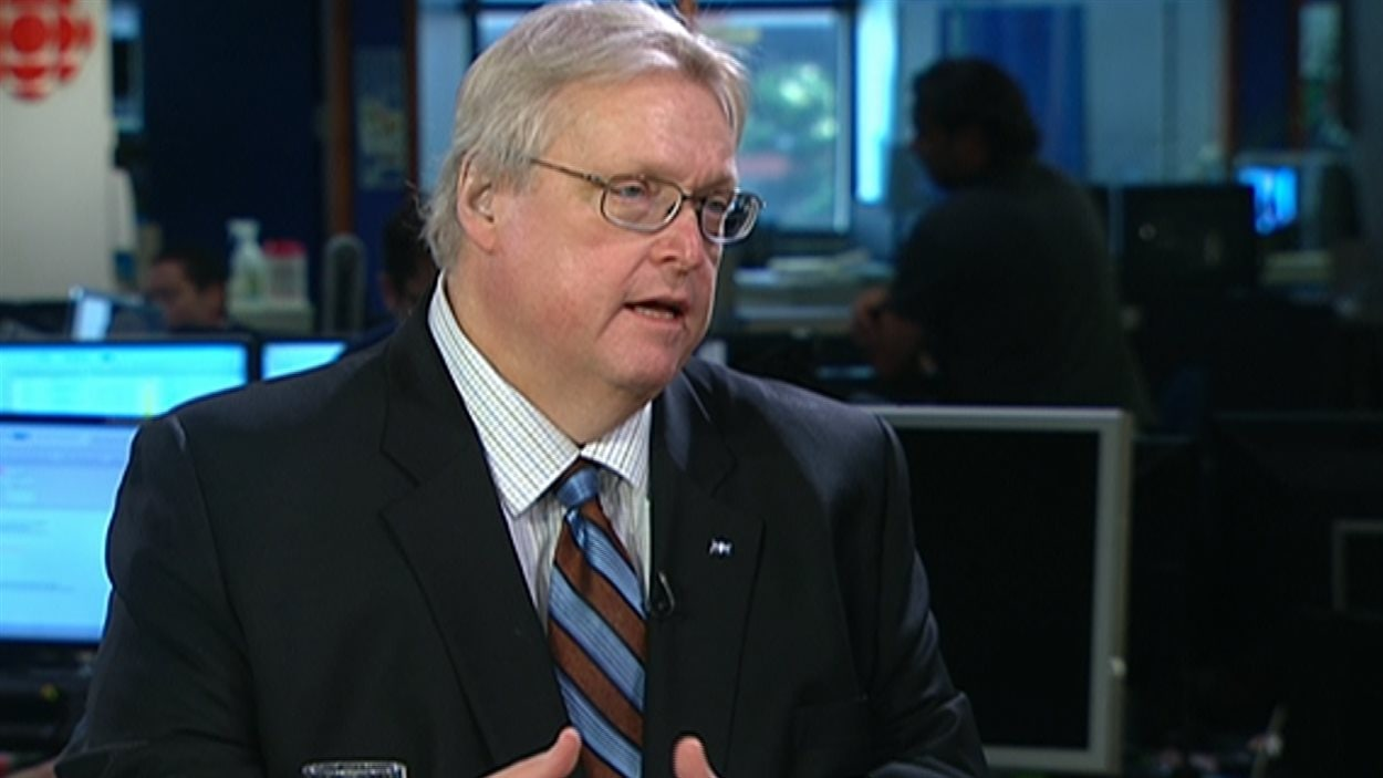 Le ministre de la Santé du Québec, Gaétan Barrette, en entrevue à RDI.