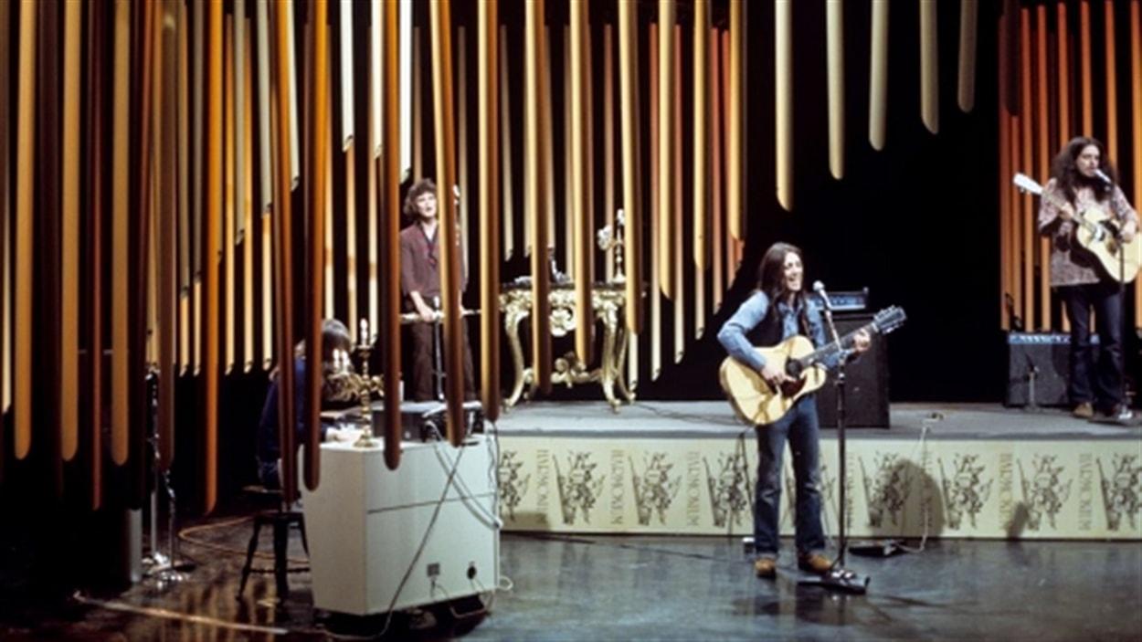 Le groupe Harmonium à la télévision de Radio-Canada en 1975
