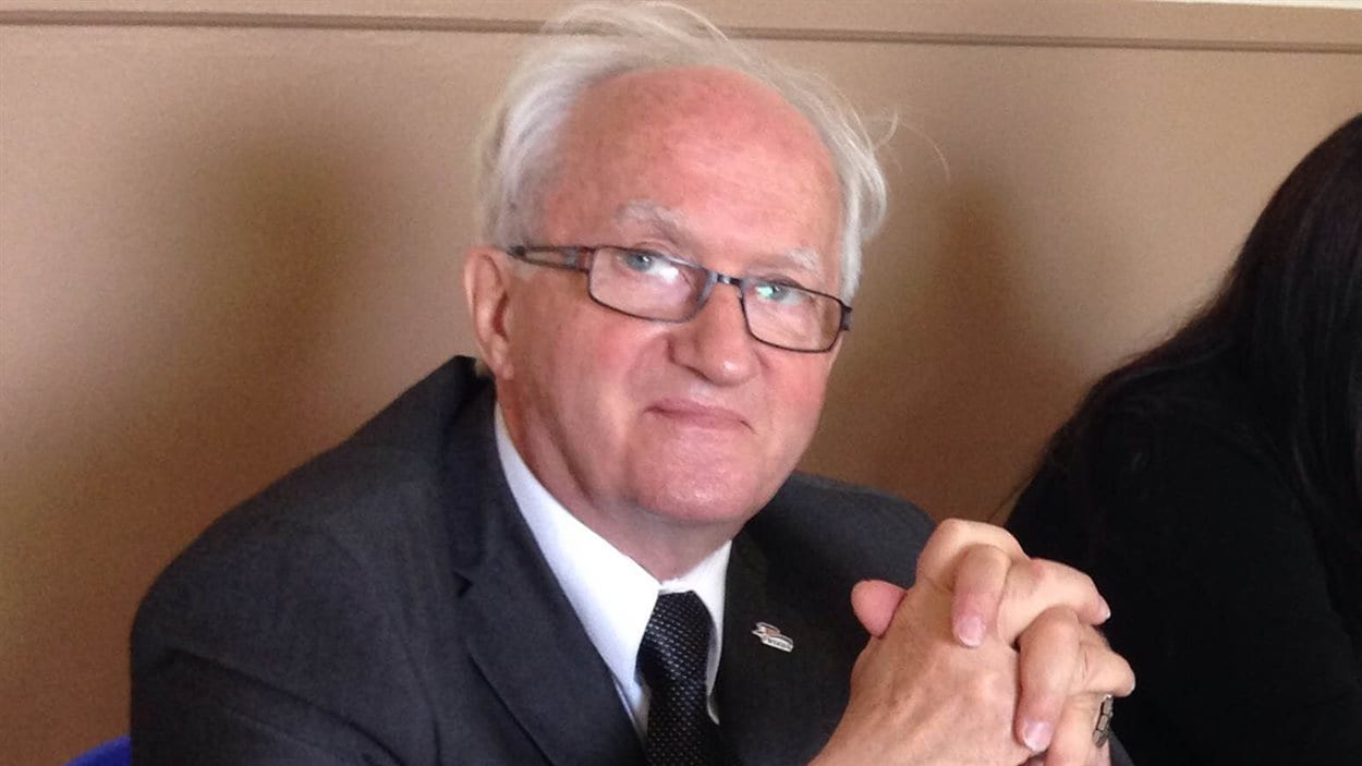 Le maire d'Amqui, Gaétan Ruest