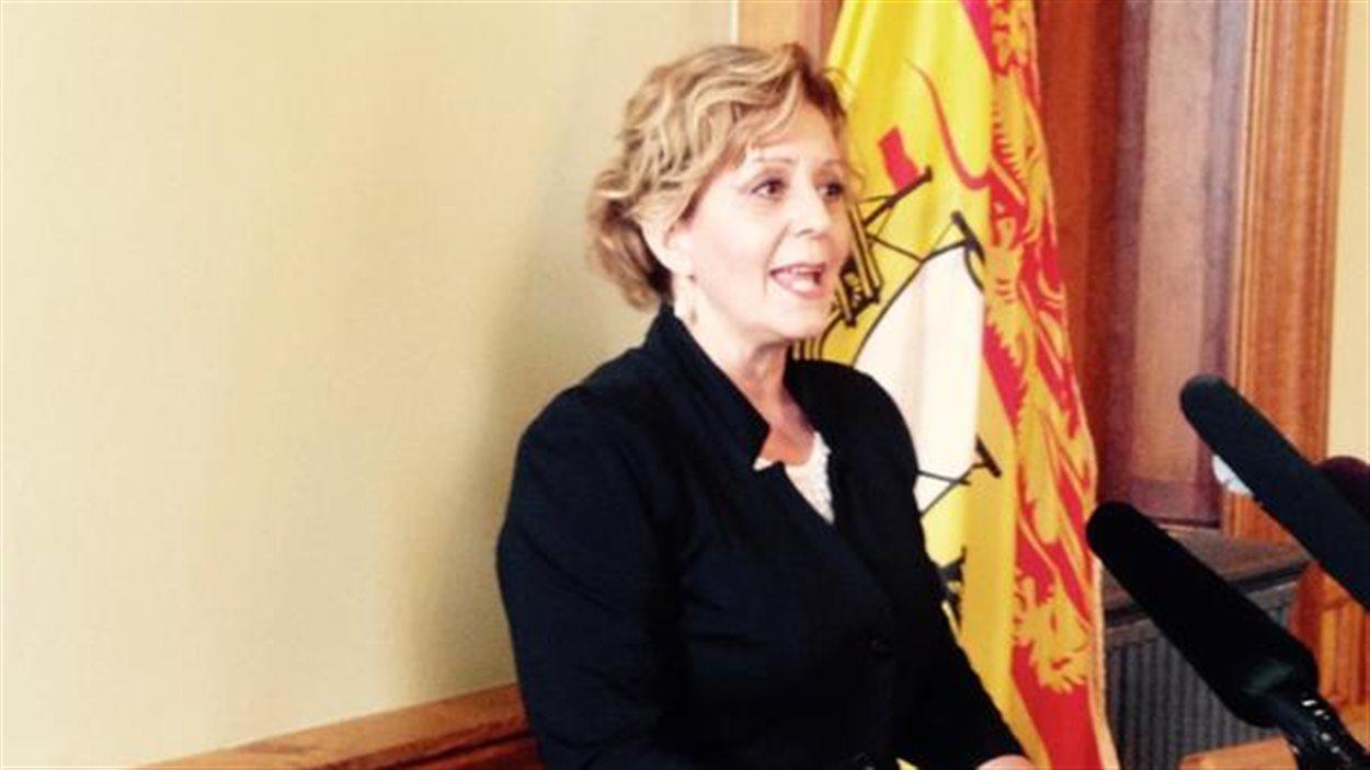 La commissaire aux langues officielles du Nouveau-Brunswick, Katherine d'Entremont
