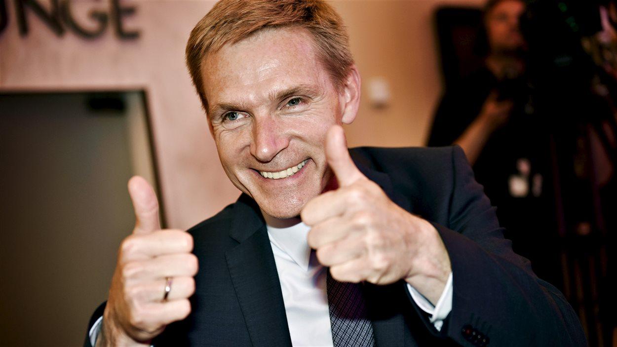 Le chef defile du DF, Kristian Thulesen Dahl