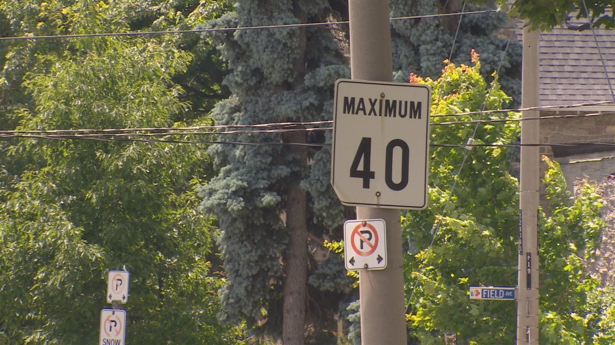 L'idée de faire passer la limite de vitesse de 40 à 30 km/h est à l'étude.