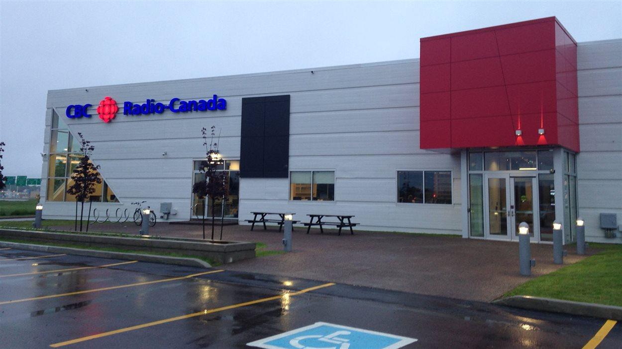 La nouvelle station de Radio-Canada, à Moncton.