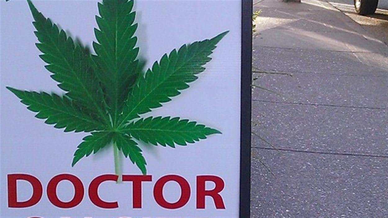 Un dispensaire de marijuana à Vancouver