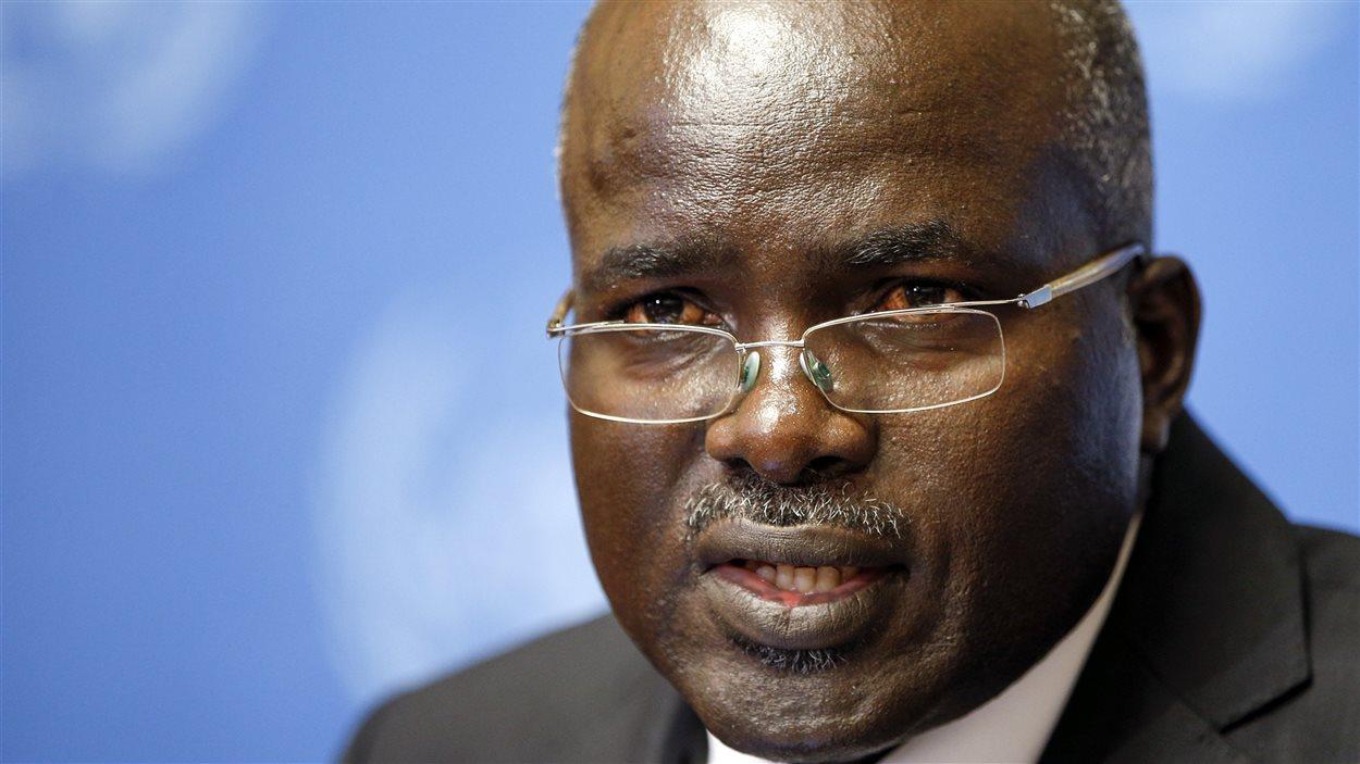 Le vice-président Gervais Rufyikiri s'est réfugié en Belgique après avoir reçu des menaces au Burundi.