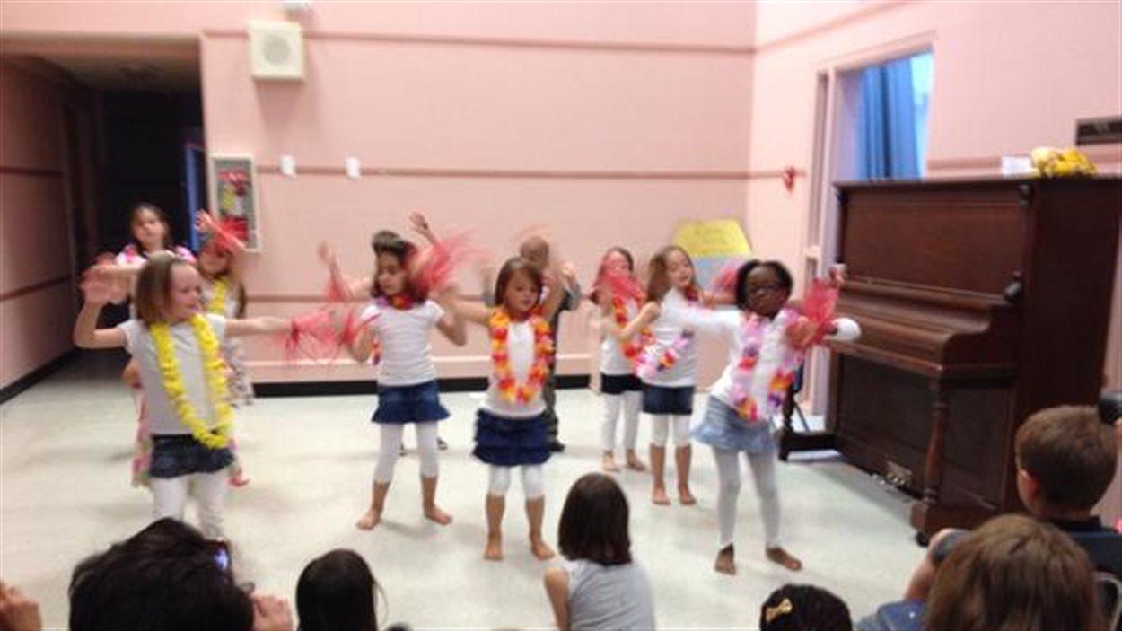 Concert de fin d'année à l'École Sans-Frontières
