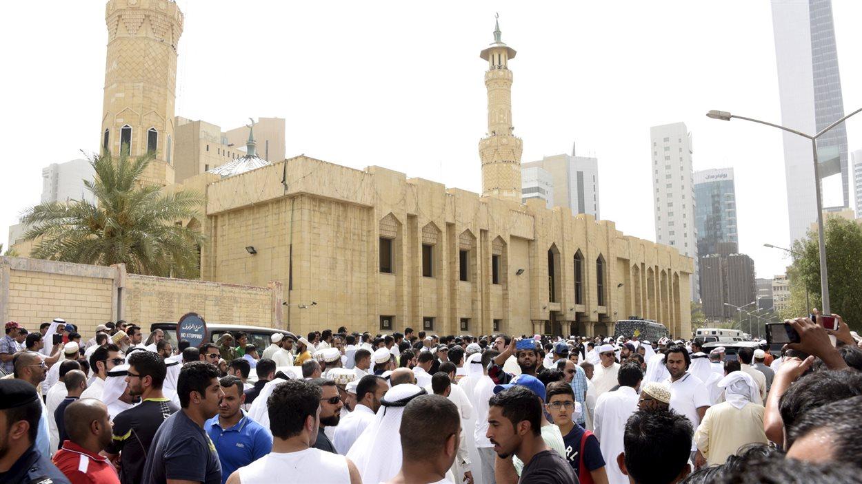 L'attentat a été perpétré dans la mosquée de l'Imam Sadiq