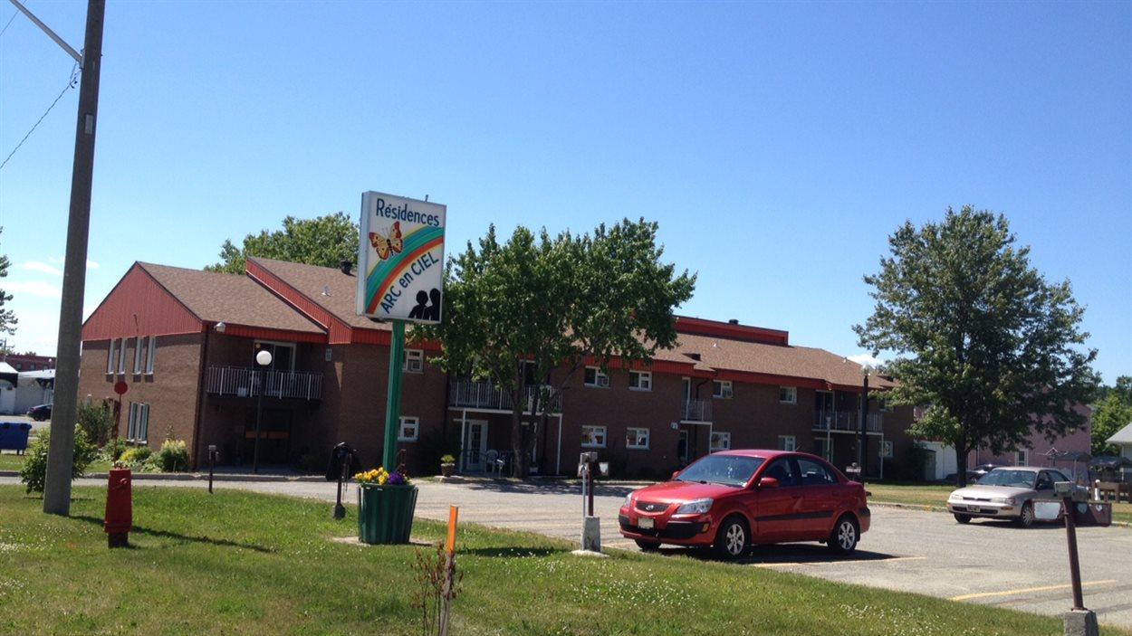 Les résidences arc-en-ciel sont gérées par l'Office municipal d'habitation de Ville-Marie