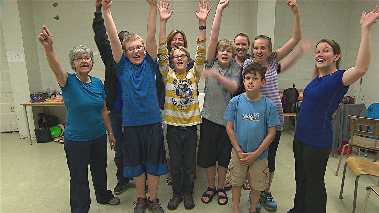 Un camp d'été pour enfants autistes a ouvert ses jours à Magog.