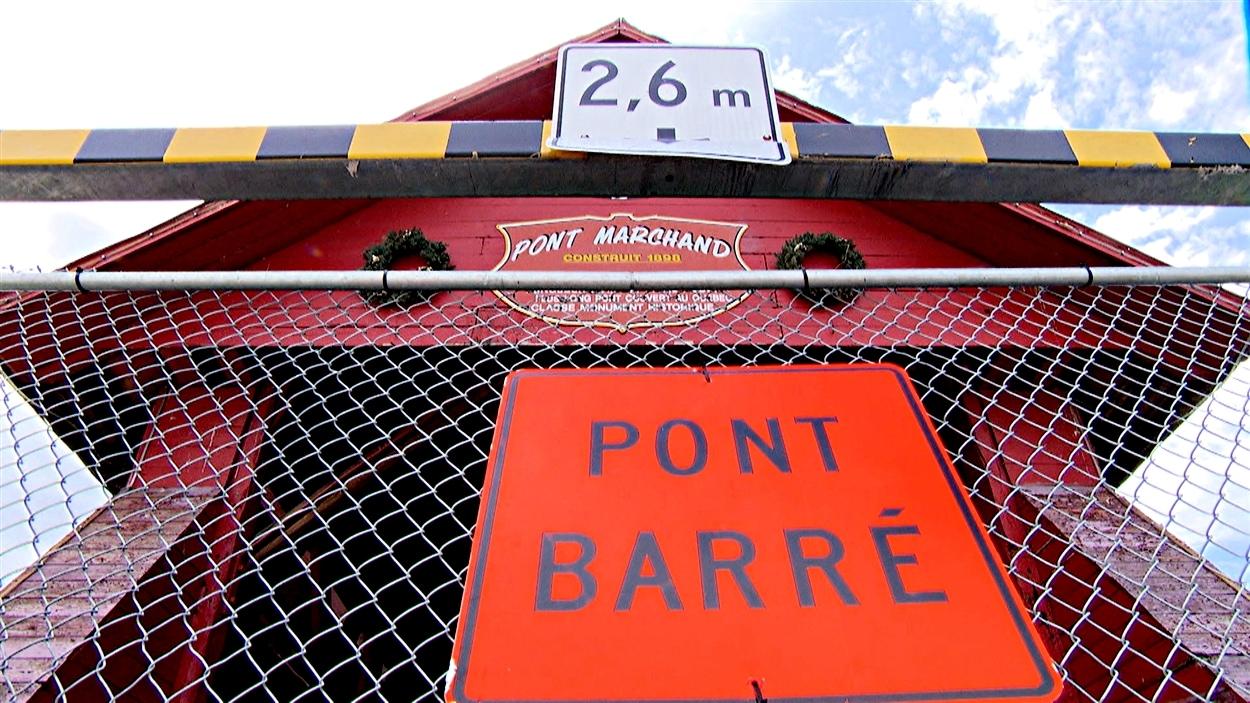 Le pont Félix-Gabriel-Marchand est fermé depuis mai 2014.