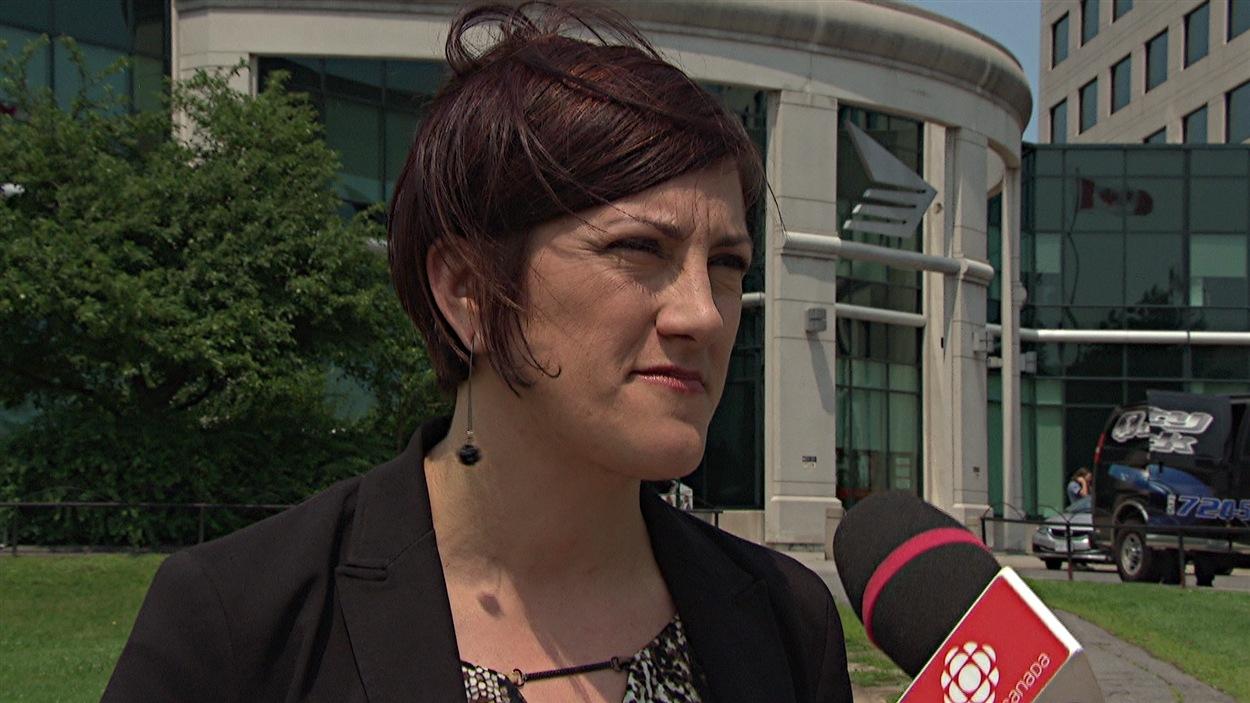 Annick Losier est porte-parole pour Postes Canada.