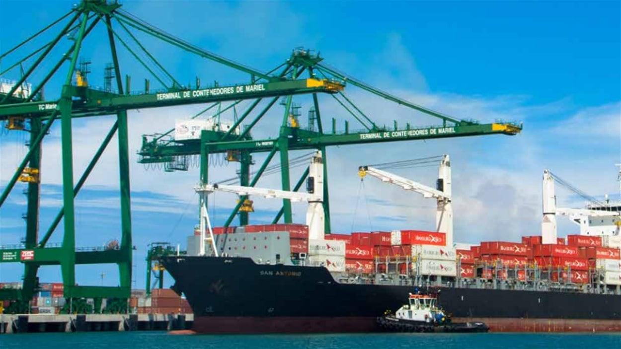 Le port de Mariel, à Cuba