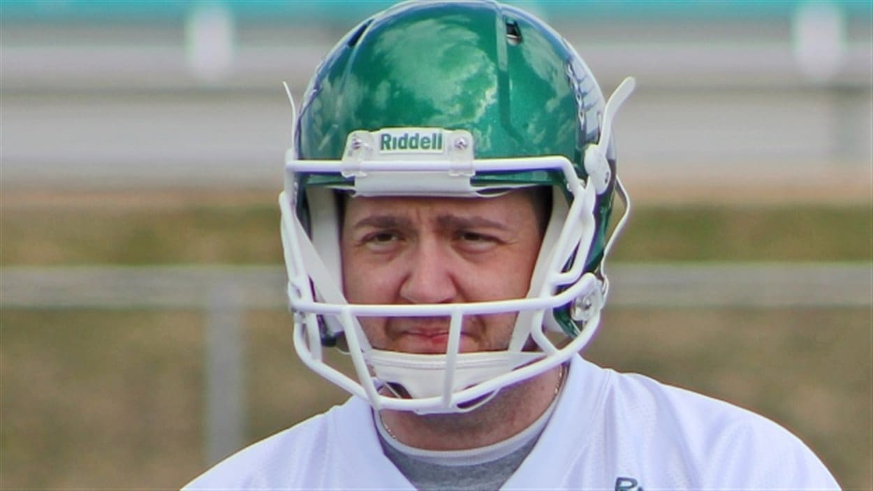 Chris Milo, ancien botteur des Roughriders de la Saskatchewan