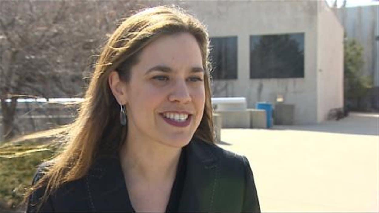 Sophie Bouffard, directrice de la Cité universitaire francophone