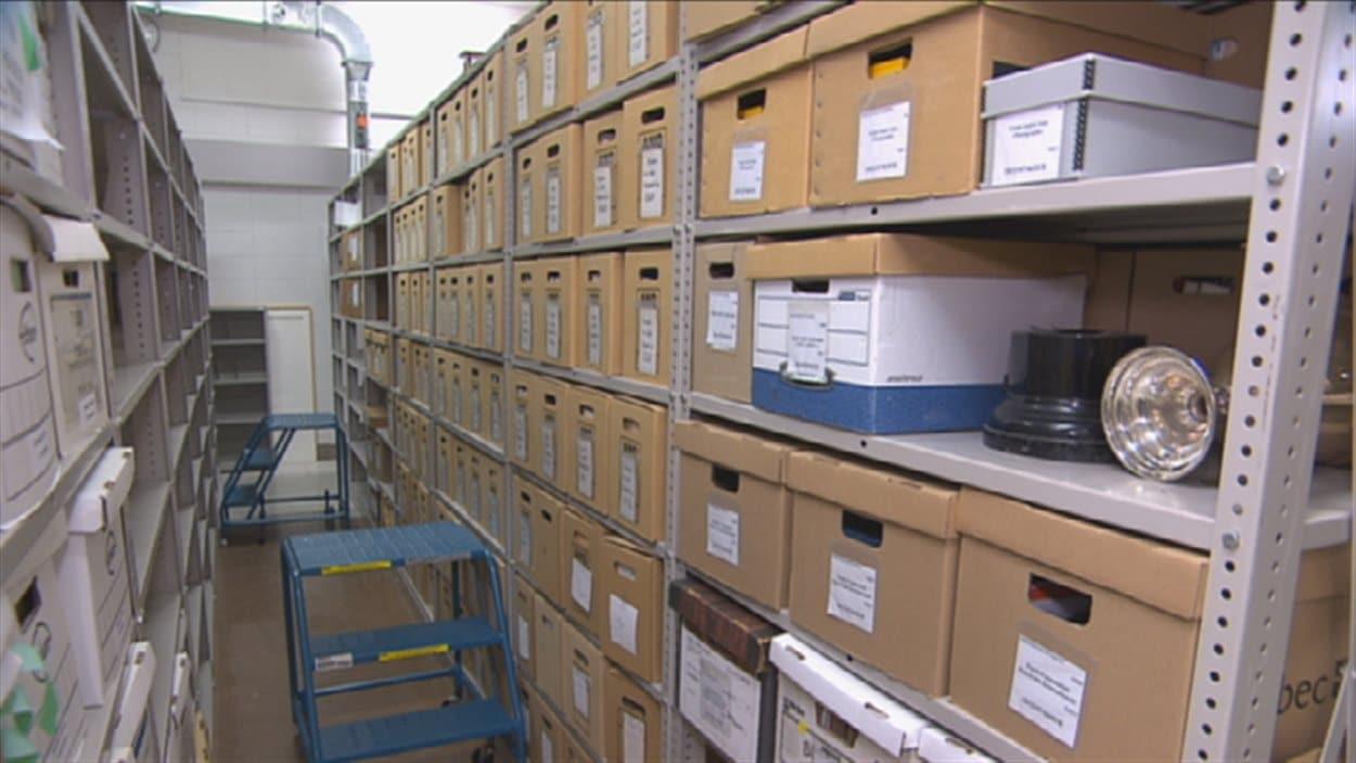 Les archives de la Société historique du Saguenay