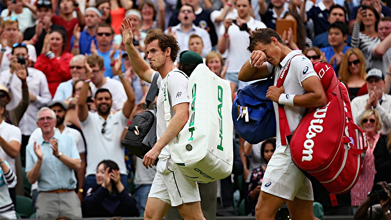 Andy Murray et Vasek Pospisil