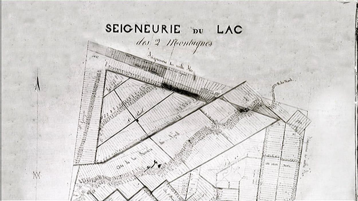 Seigneurie du Lac-des-Deux-Montagnes, Nouvelle-France.