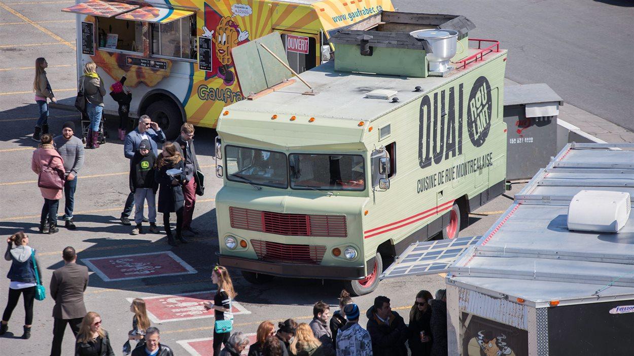Des camions de cuisine de rue aux Promenades St-Bruno