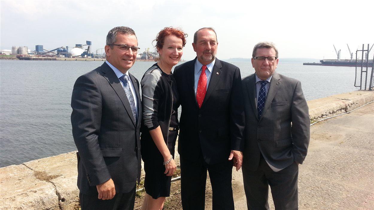 Le fédéral investira 60 millions dans le projet.