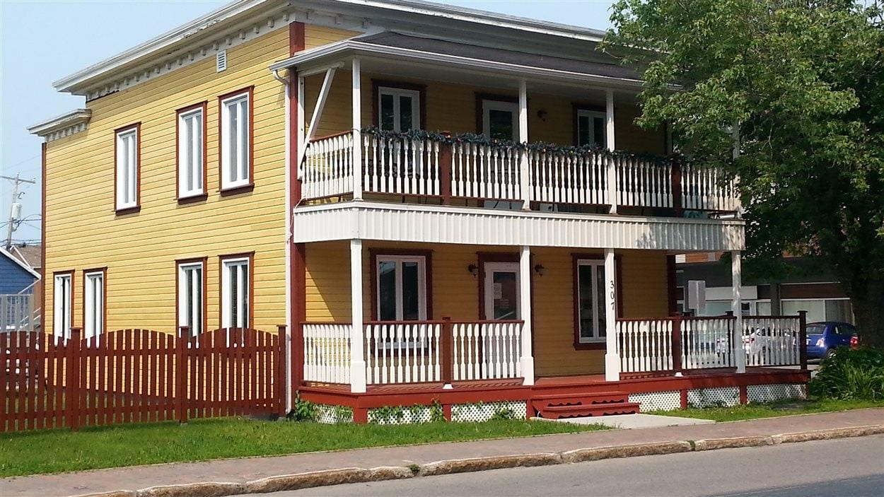L'édifice adminsitratif de l'office municipal d'habitation de Matane