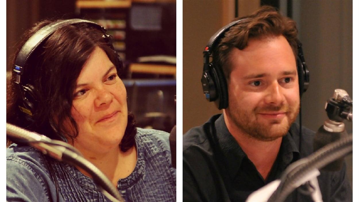 Melissa Mollen Dupuis et Philippe Tsaronsere Meilleur