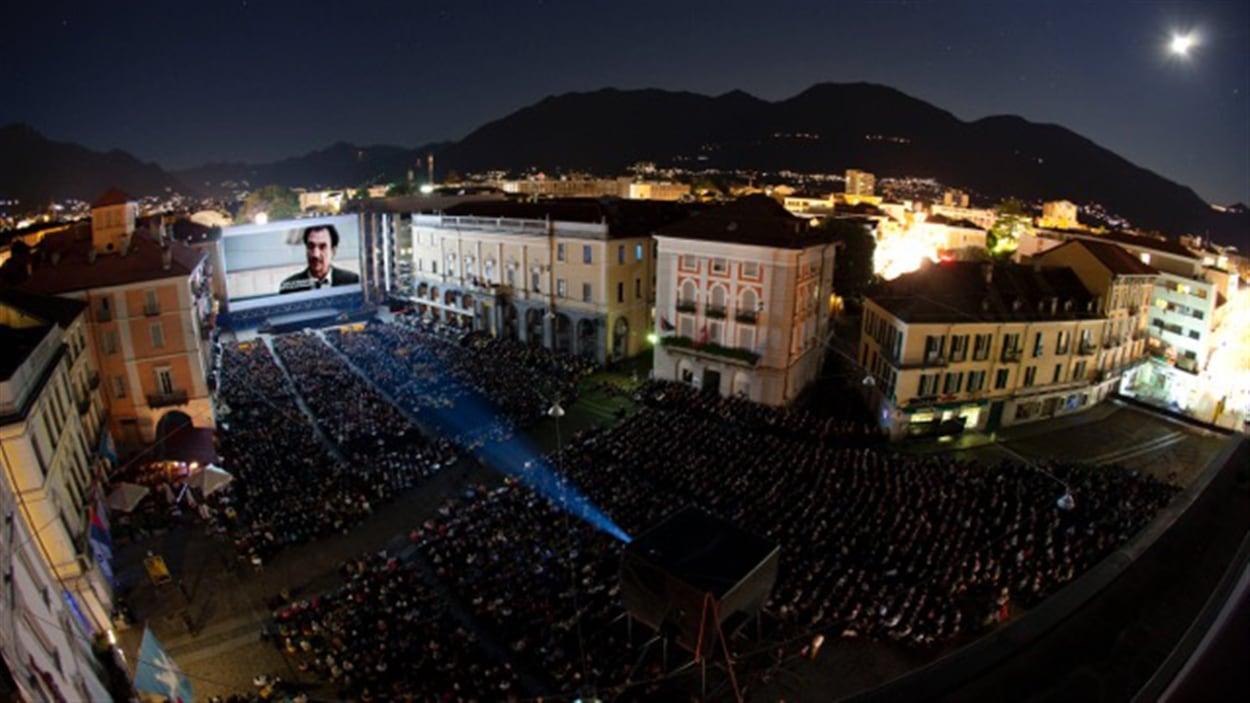 Le Festival international du film de Locarno en Suisse