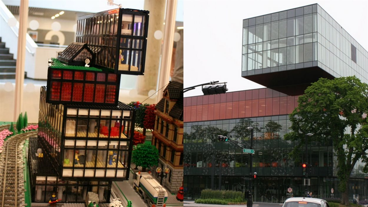 La bibliothèque municipale d'Halifax, version Lego.