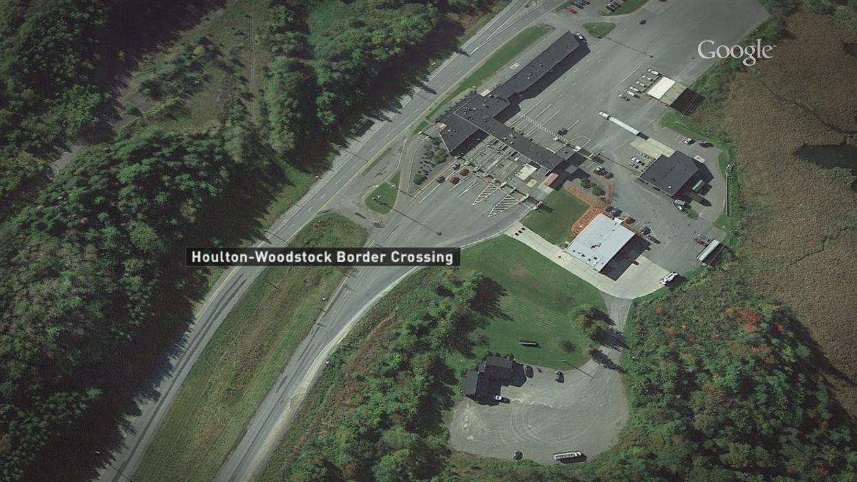 Les ville de Houlton et de Woodstock sont situées à la frontière canado-américaine.