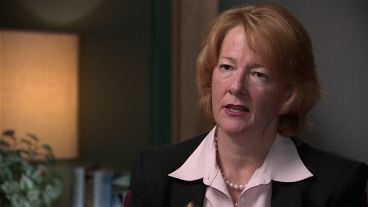 L'ancienne dirigeante Alison Redford en entrevue avec CBC/Radio-Canada
