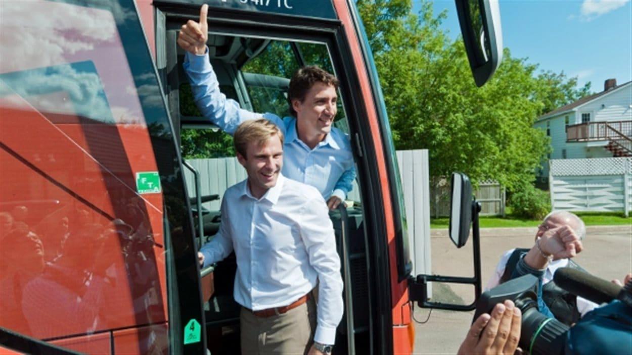 Brian Gallant et Justin Trudeau
