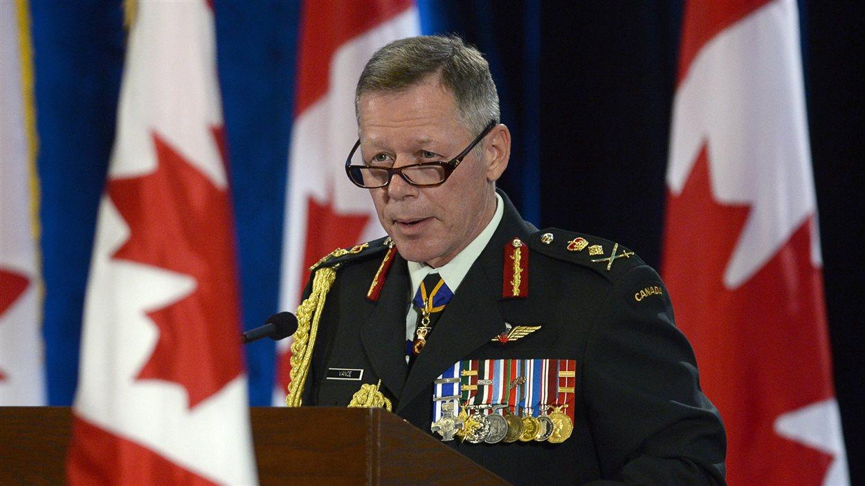 Le général Jonathan Vance a été confirmé dans ses fonctions de chef d'état-major des Forces canadiennes.