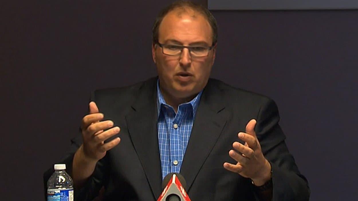 Martin Beaumont, PDG  du CIUSSS de la Mauricie-et-du-Centre-du-Québec