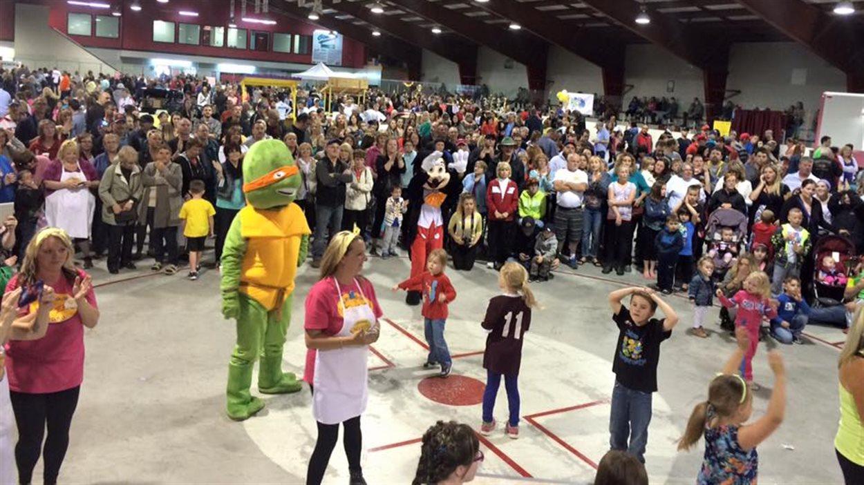 Près de 7000 ont participé à l'événement pour les enfants malades.