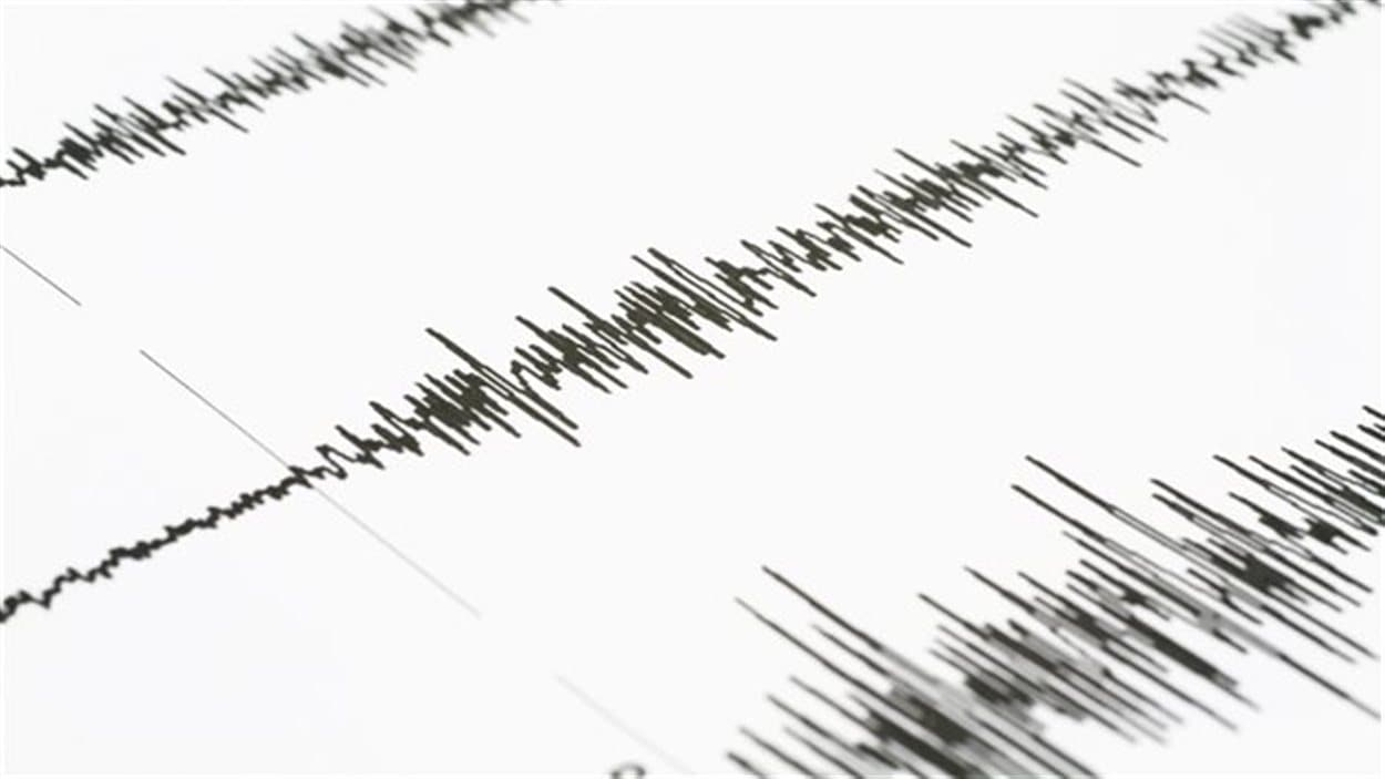 Photo d'un sismographe.