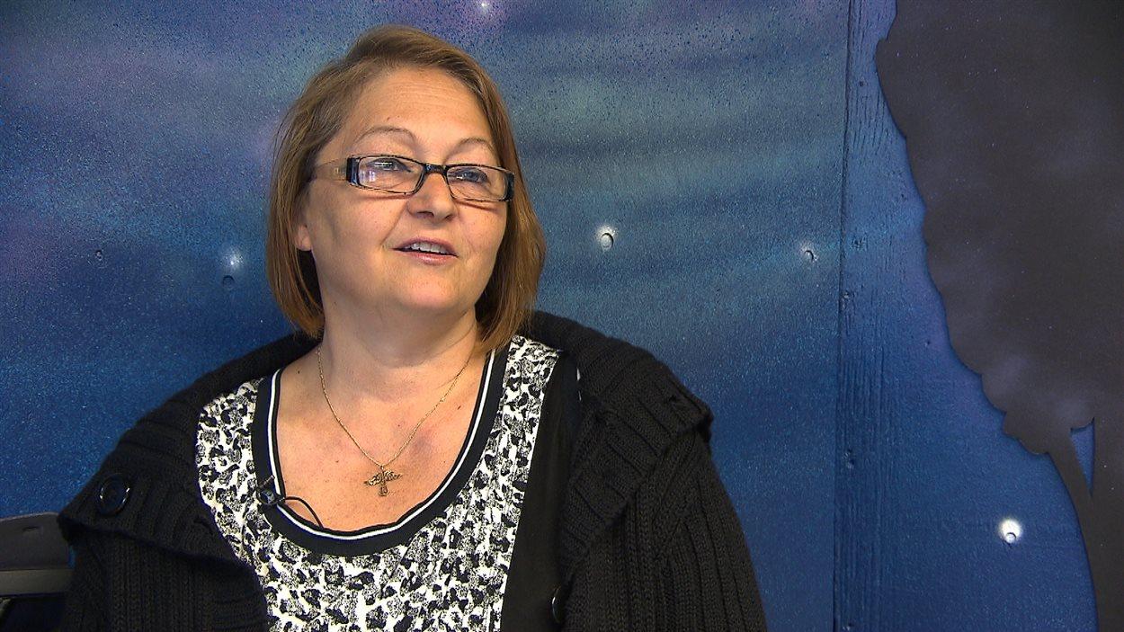 Yvette Plourde fait partie des ancienne habitante de la ville de Gagnon.