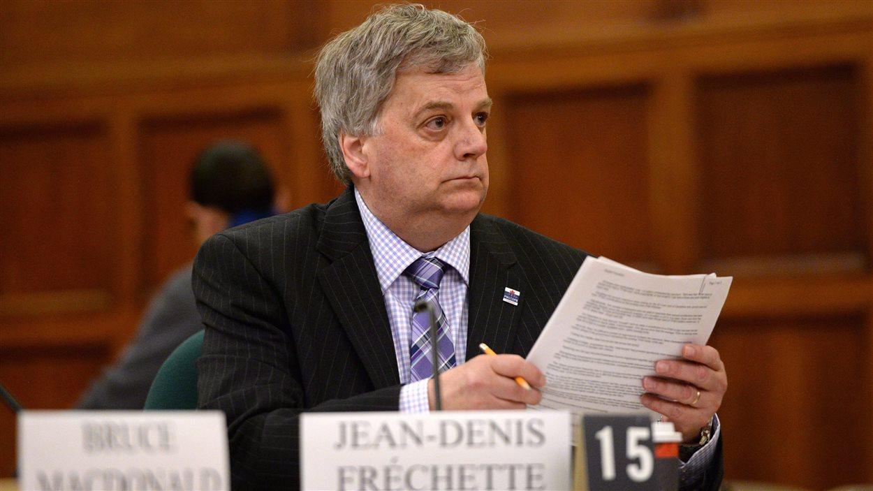Le directeur parlementaire du budget Jean-Denis Fréchette