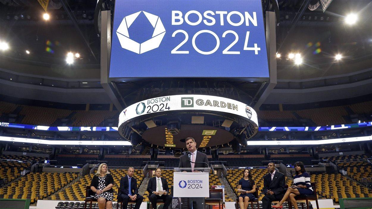 Le maire de Boston, Marty Walsh, convoite lui aussi les JO de 2024.