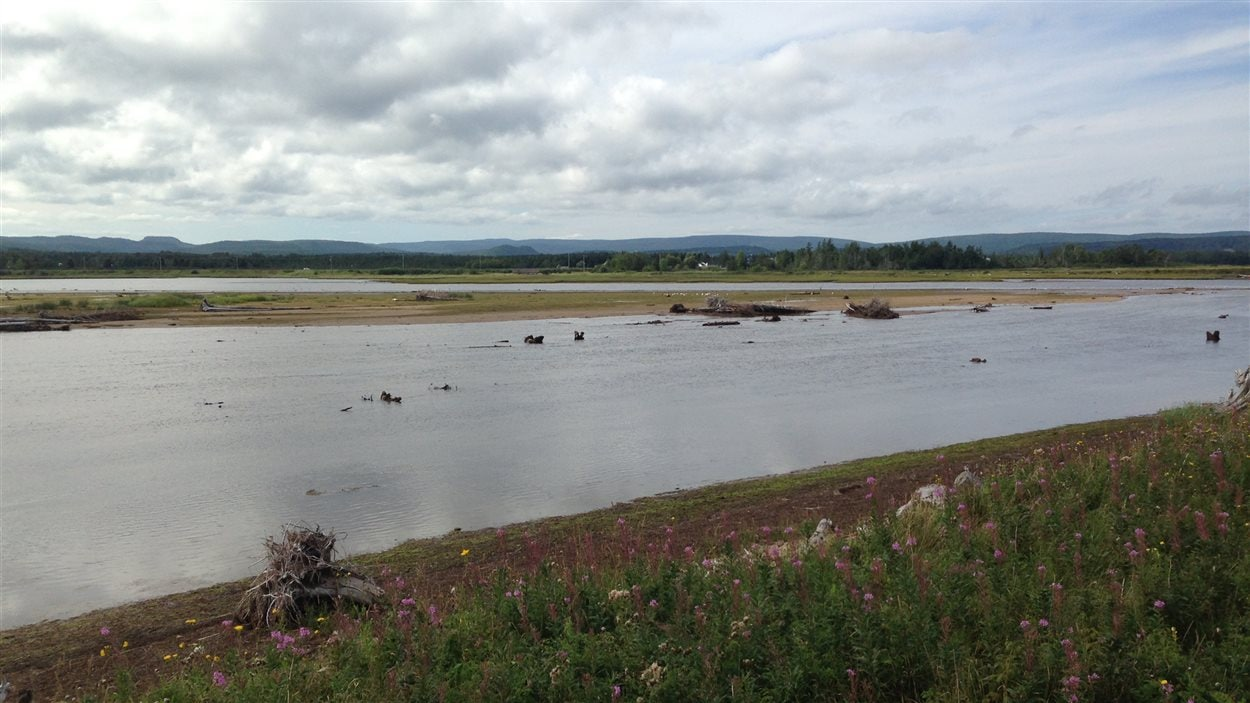 Barachois de la rivière Malbaie