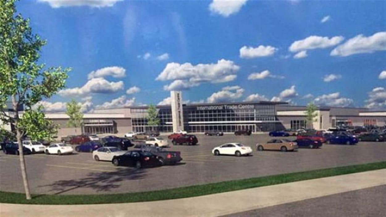 Le nouveau centre de commerce international sera construit sur les terrains de la place Evraz à Regina
