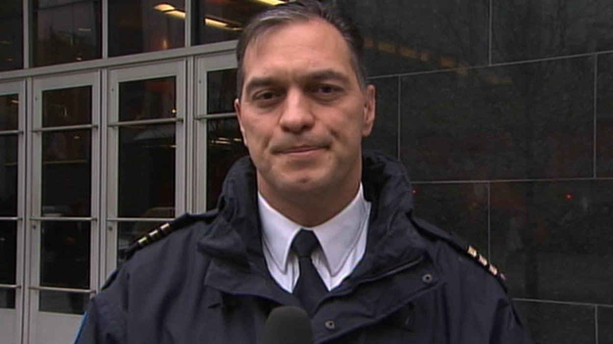 Le maire de Montréal, Denis Coderre, recommande à Québec que Philippe Pichet soit nommé chef du SPVM